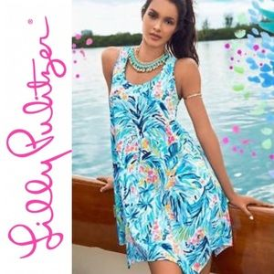 NWT Lilly Pulitzer Melle Dress Tippy Top